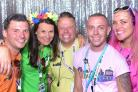 Southampton Pride committee - l-r Mikey Ghee, Lyndsey Whettingsteel, Daniel Langrish-Beard, James Sayers, Julianne Watling-McCarthy