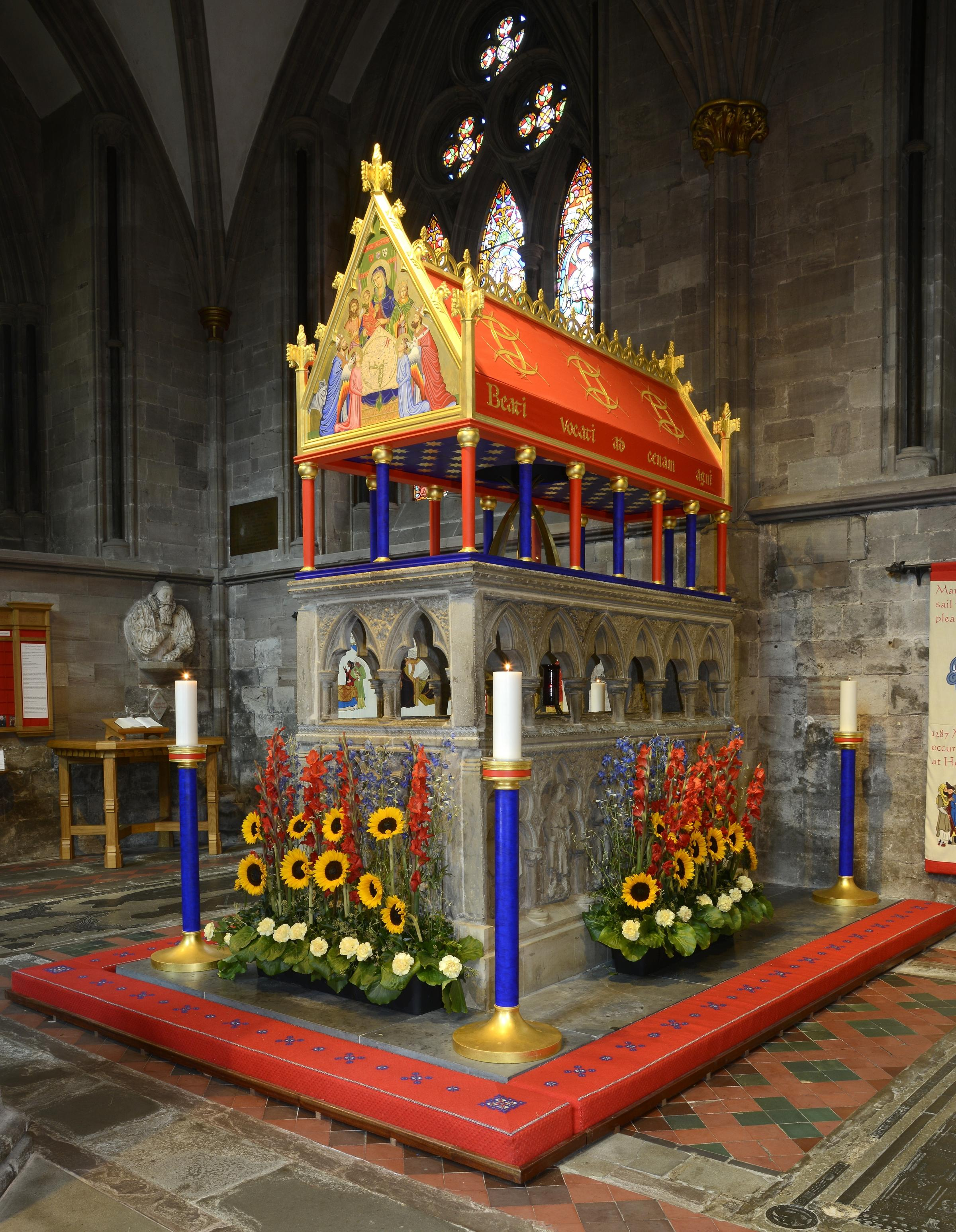 Shrine of St Thomas, Hereford Cathedral