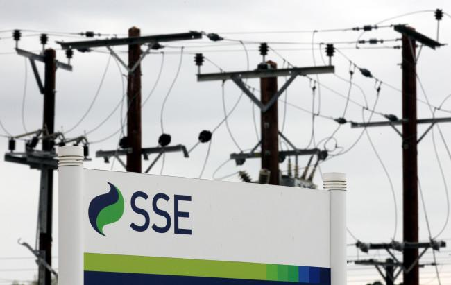 File photo dated 21/07/11 of Scottish and Southern Energy sign. The Big Six energy giant has been ordered to pay £1 million for sending out inaccurate and misleading annual statements to 580,000 pre-payment meter customers. PRESS ASSOCIATION