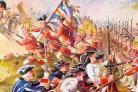 FEARSOME: The Tigers fought in the Battle of Minden, 1759.