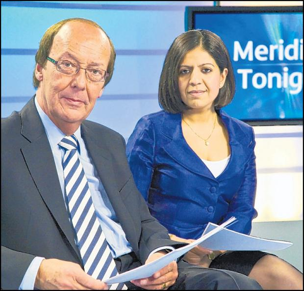 Fred Dinenage and Sangeta Bhabra