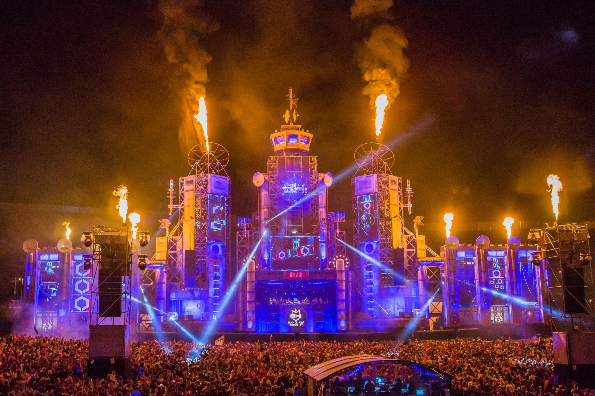 Pictures from BoomTown 2018 at the Matterley Estate, near Winchester - Picture provide by Boomtown