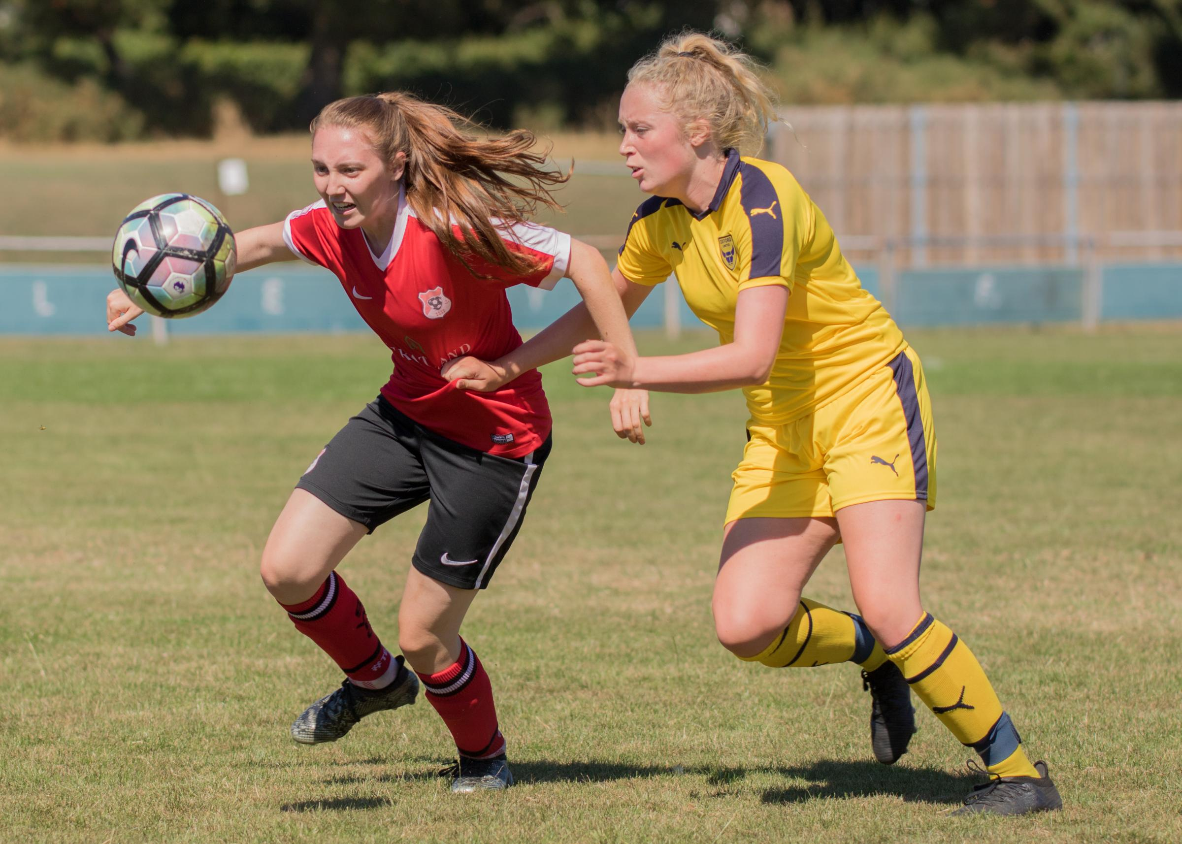 Hannah Samuels in action. Pic: Bilcliff Photography