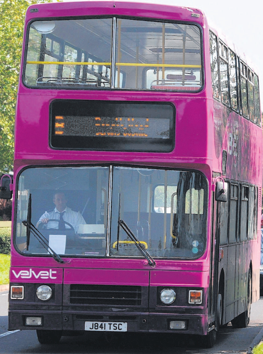 Bus company back on the road after last gasp bid to save business