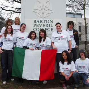 SAVE OUR COURSE: Students studying Italian at Barton Peveril.
