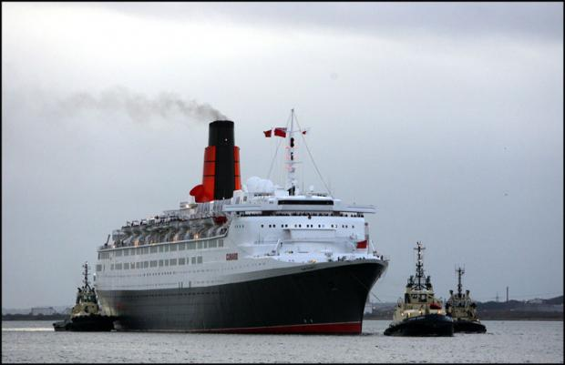 QE2 to be taken to Asia
