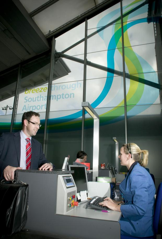 Passenger numbers fall again at Southampton airport