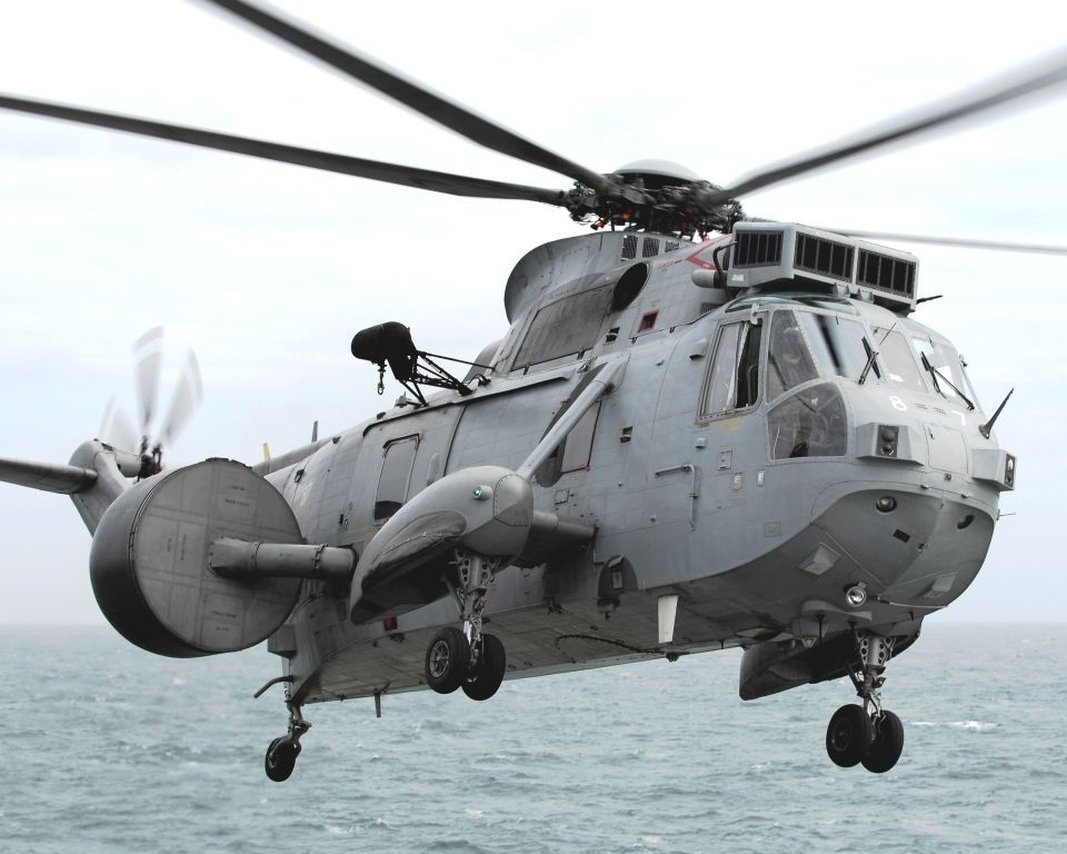 The asbestos fears relate to Sea King helicopters used by the Royal Navy for nearly 40 years.
