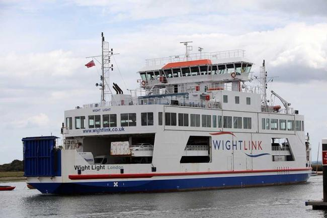 Cross-Solent ferry services suspended due to poor weather