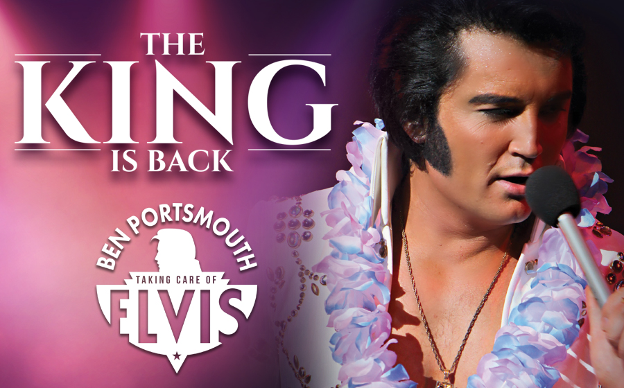 The King Is Back - Ben Portsmouth is Elvis