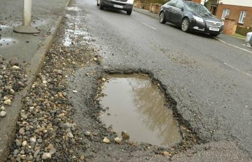 More than £11m spent repairing potholes since 2017