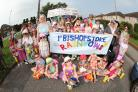 7 Sept 2014 - Bishopstoke Carnival 2014 - 1st Bishopstoke Rainbows and Brownies and guides.