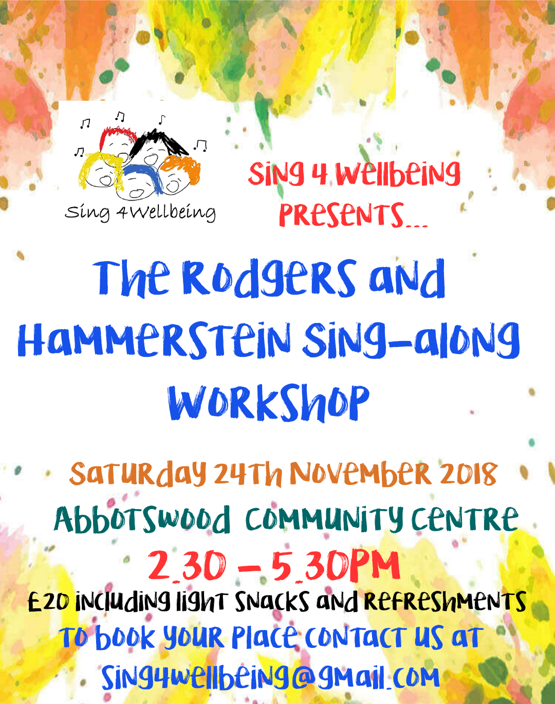 The Rodgers And Hammerstein Sing-Along Workshop