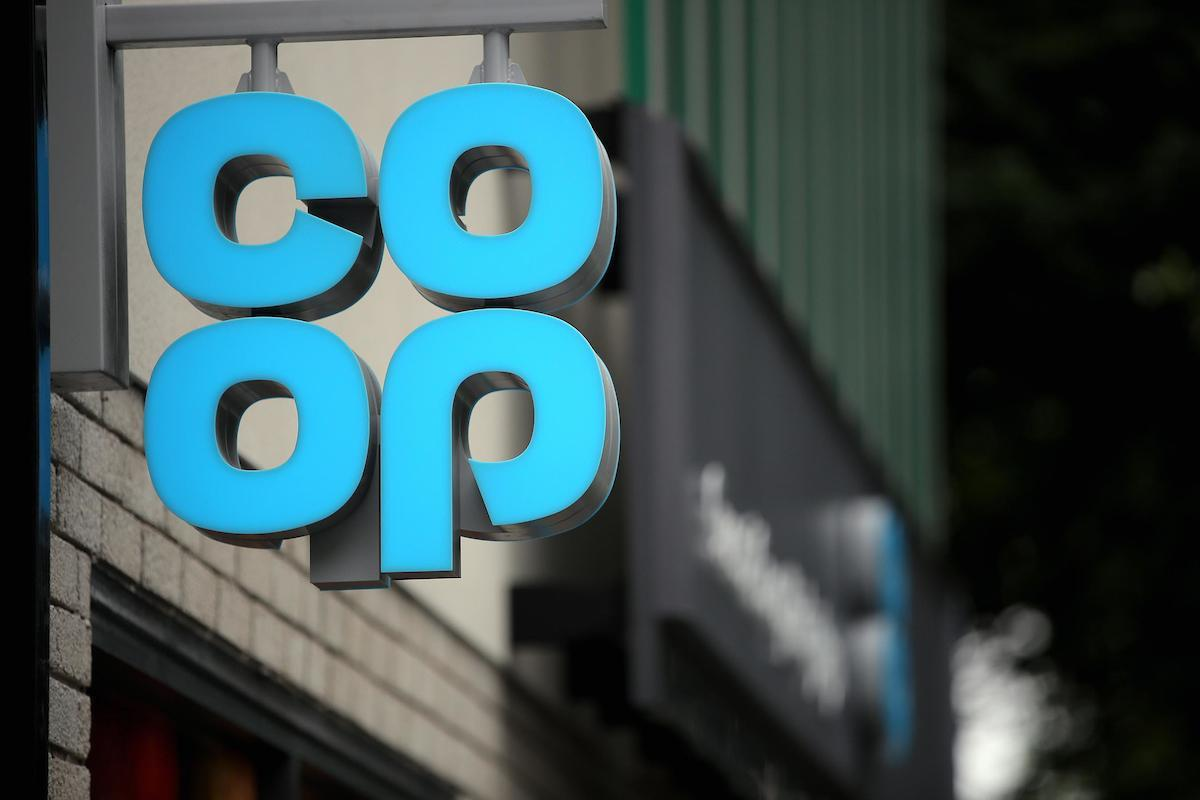 A Co-Op sign. Stock image (PA)