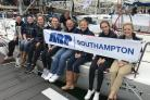 The ABP all-female sailing team which took part in the first ever Women's Sailing Cup held during Southampton Boat Show.
