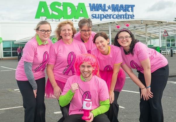 Tickled pink for breast cancer