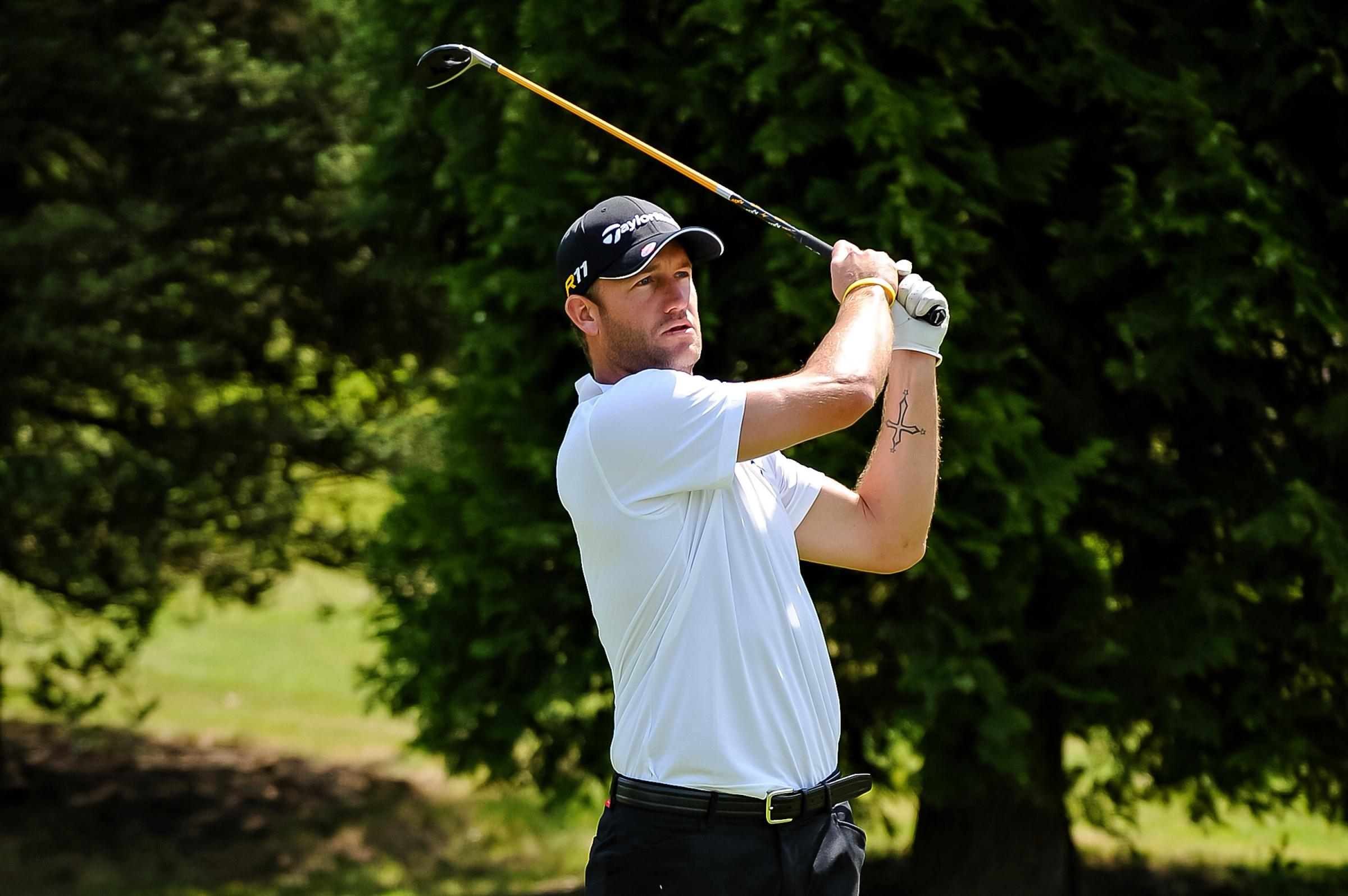 Former Hampshire cricketer Sean Ervine is targeting a professional golf career (Dave Vokes Photography)