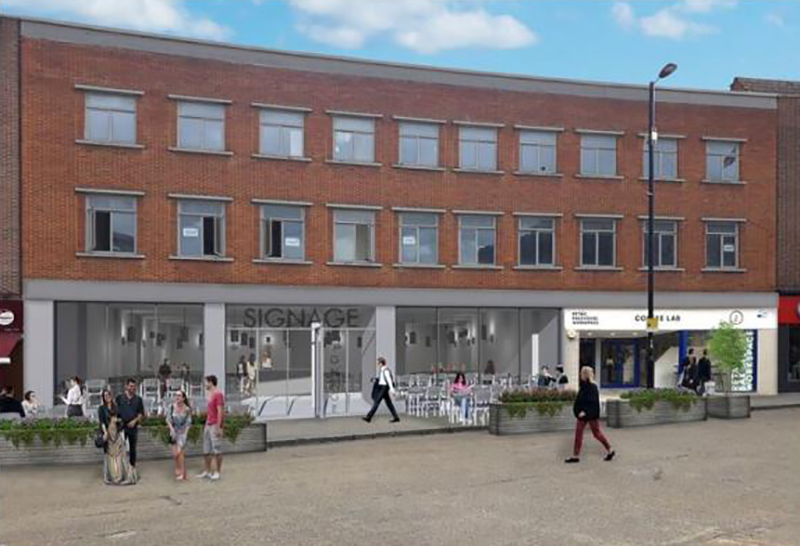 The 11,000 sq ft space at 182-183 High Street, in the historic Bargate Quarter of Southampton, is being transformed into a retail and restaurant destination with co-working space. Winchester-based property developer Gentian Development Group acquired the