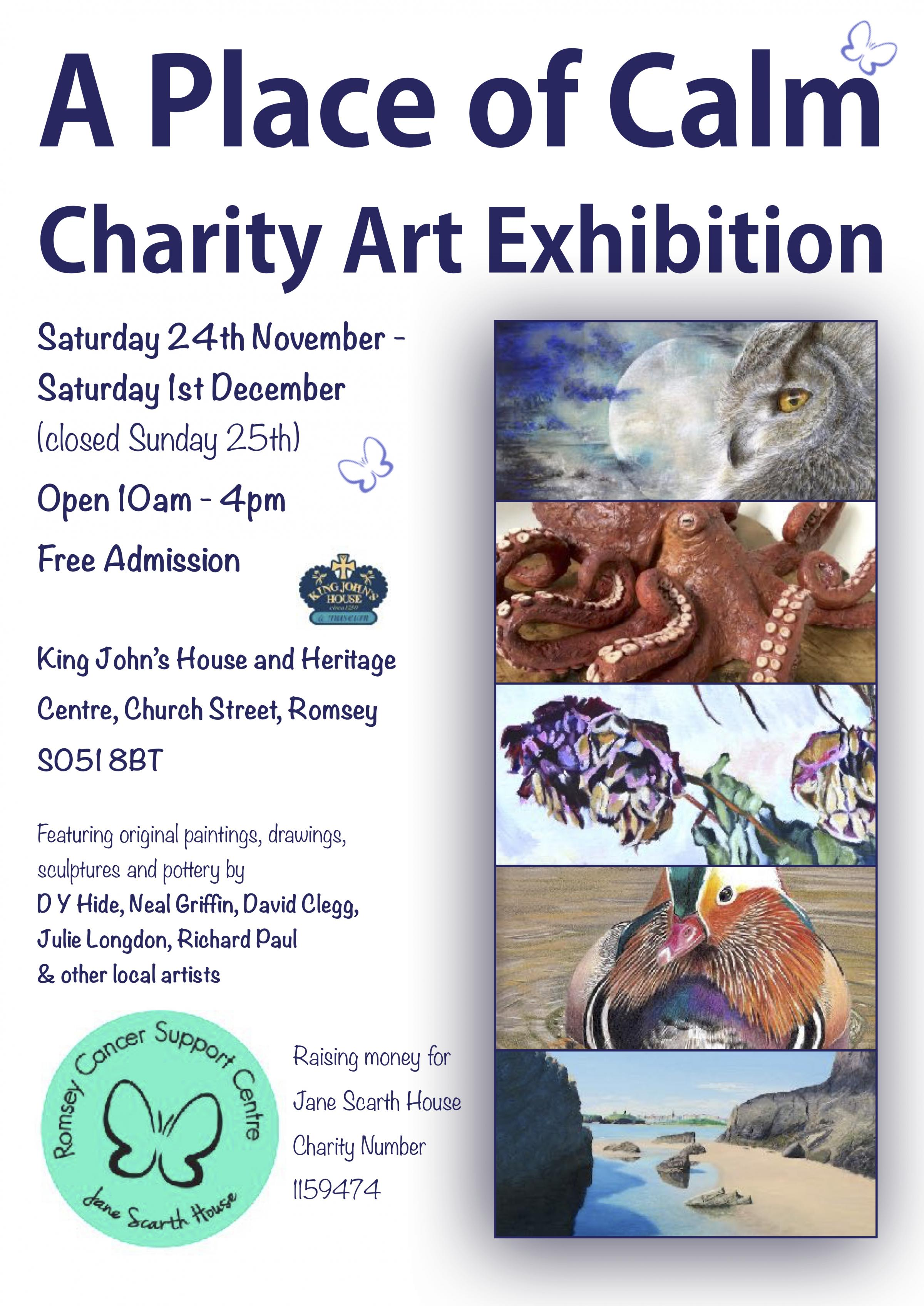 A Place of Calm Charity Art Exhibition