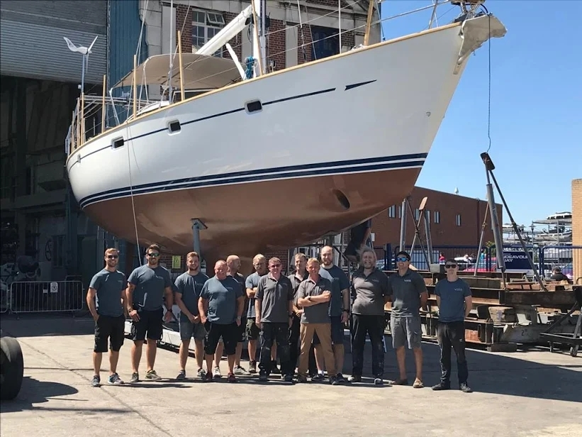 The Vortec Marine team