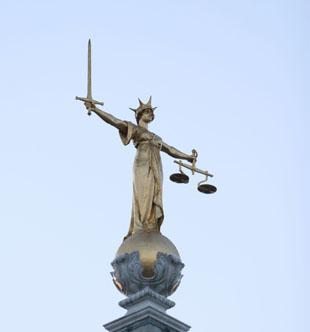 The trial is taking place at the Old Bailey in London