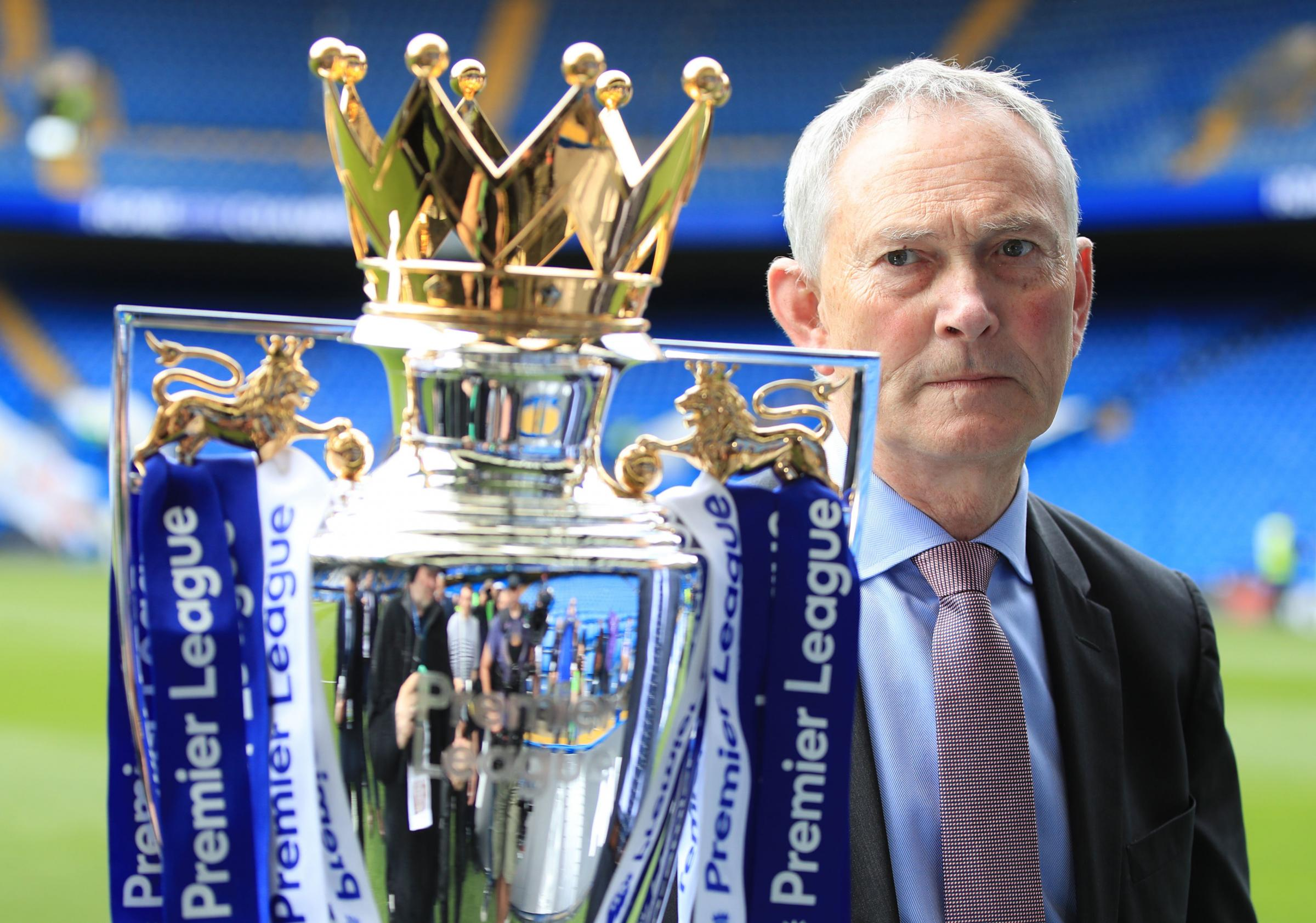 File photo dated 21-05-2017 of Richard Scudamore, Chief Executive of the Premier League. PRESS ASSOCIATION Photo. Issue date: Thursday November 15, 2018. Outgoing Premier League executive chairman Richard Scudamore will receive a £5million de