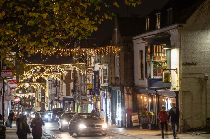 Winchester Christmas Lights Switch On 2018 - PHOTOS: Winchester Lights Up For Christmas As Thousands Flock To
