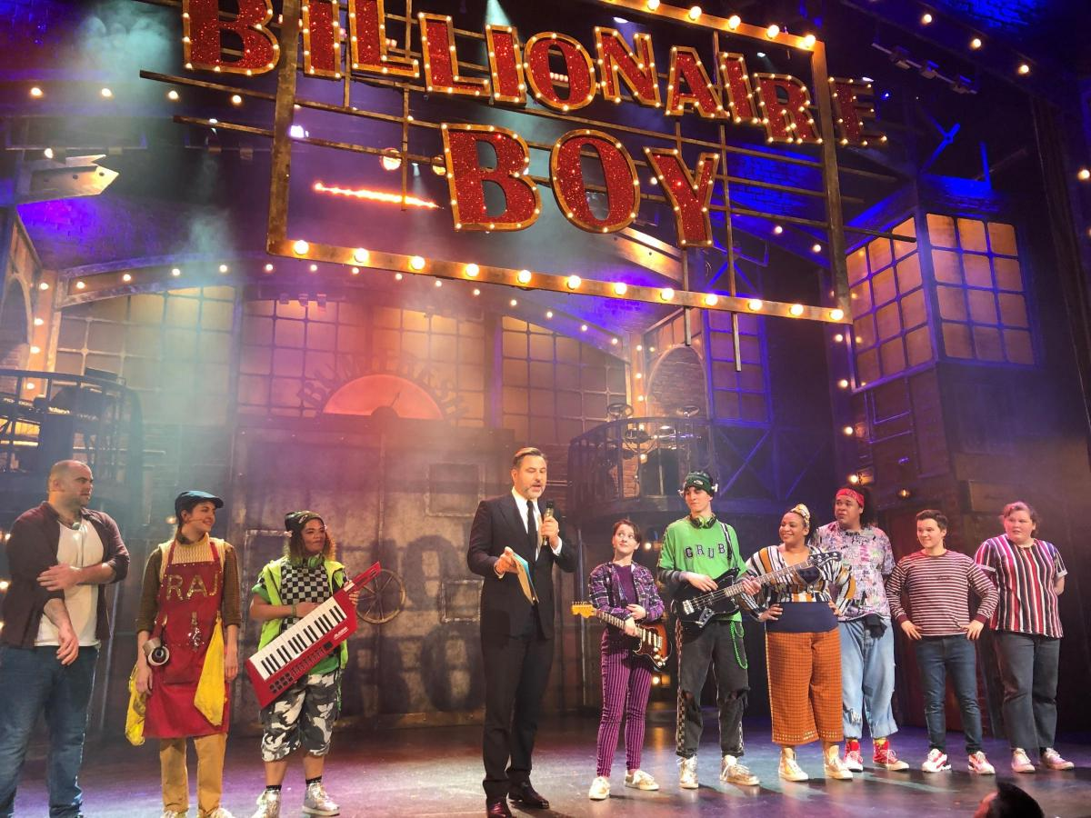 Image result for billionaire boy musical