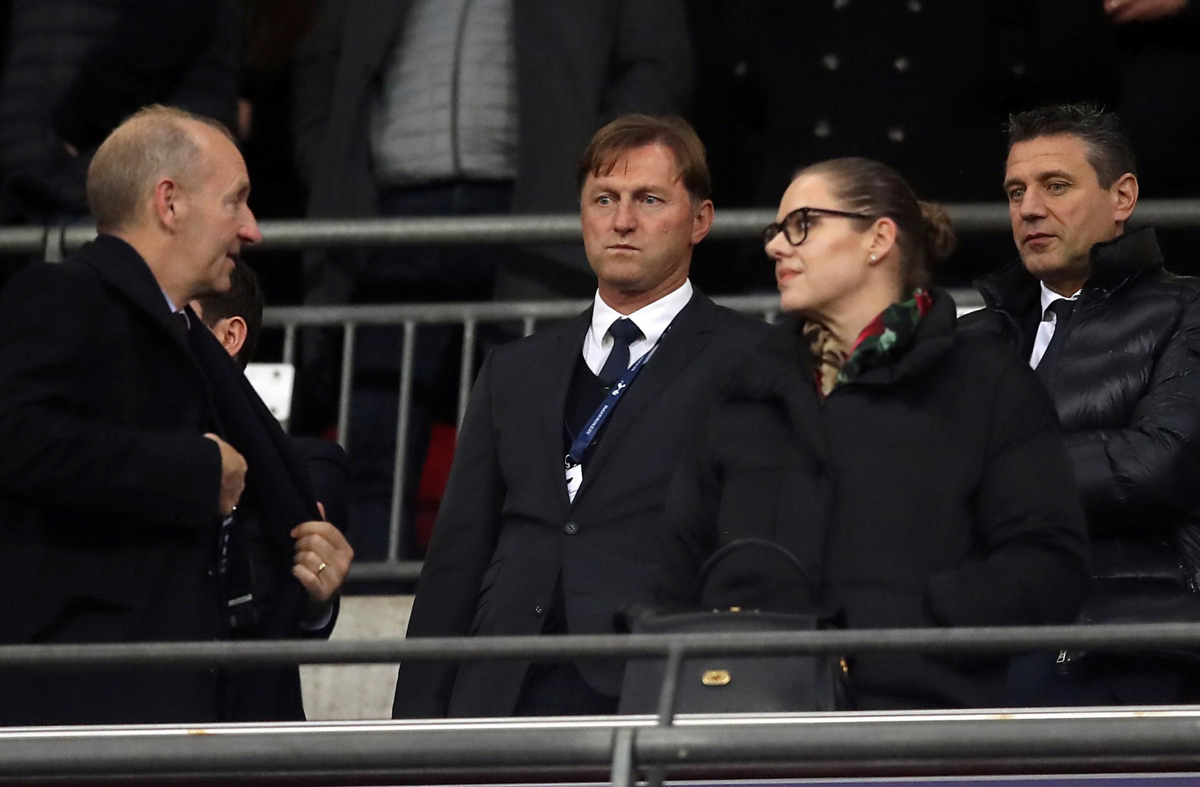 Ralph Hasenhuttl was in attendance at Wembley last night