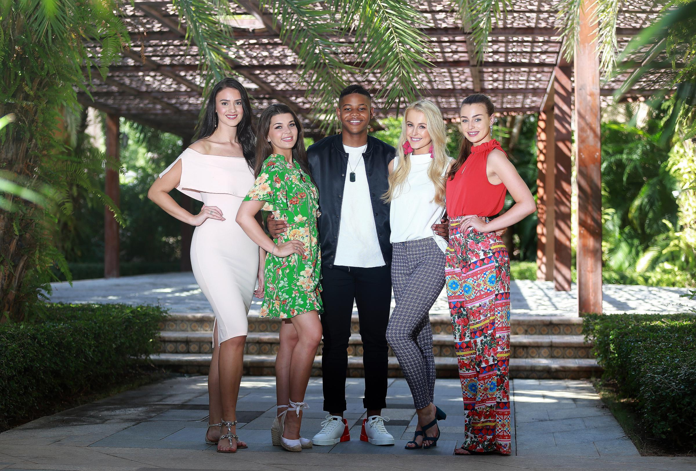 Donel with with contestants from Wales, Scotland, Northern Ireland and England