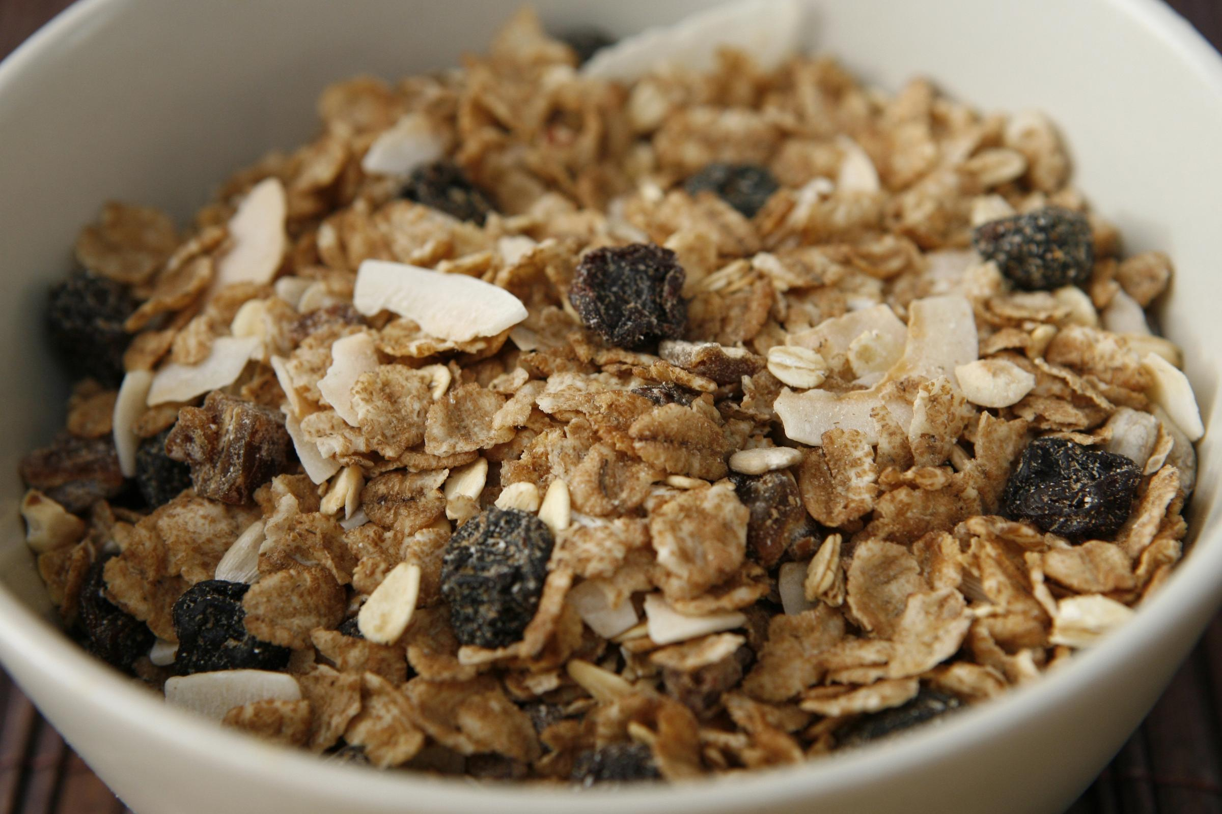 Breakfast cereal stock