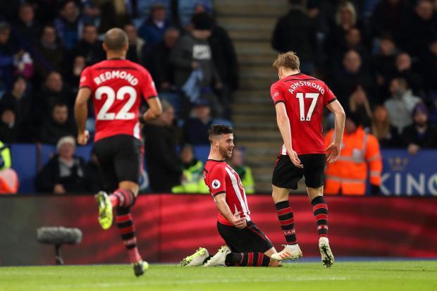 Leicester 1-2 Southampton: Long scores as ten-man Saints win