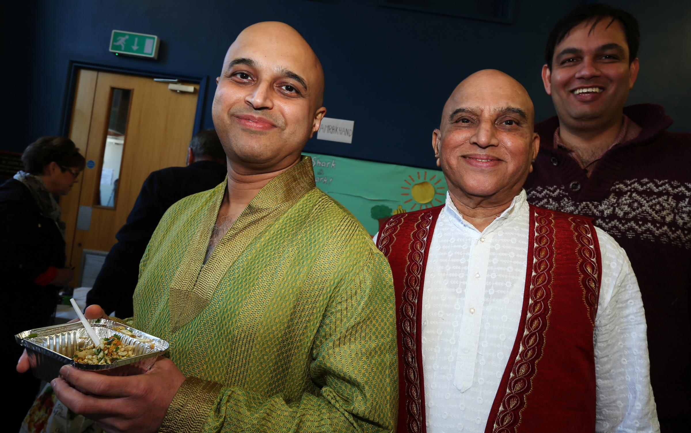 Marathi Indian community food festival, Chandler's Ford Methodist Church.                 Picture: Chris Moorhouse         Sunday 25th February 2018.