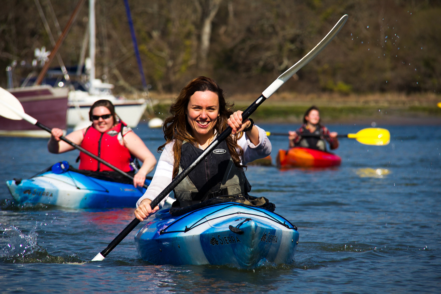 Ladies Only Paddles with New Forest Activities