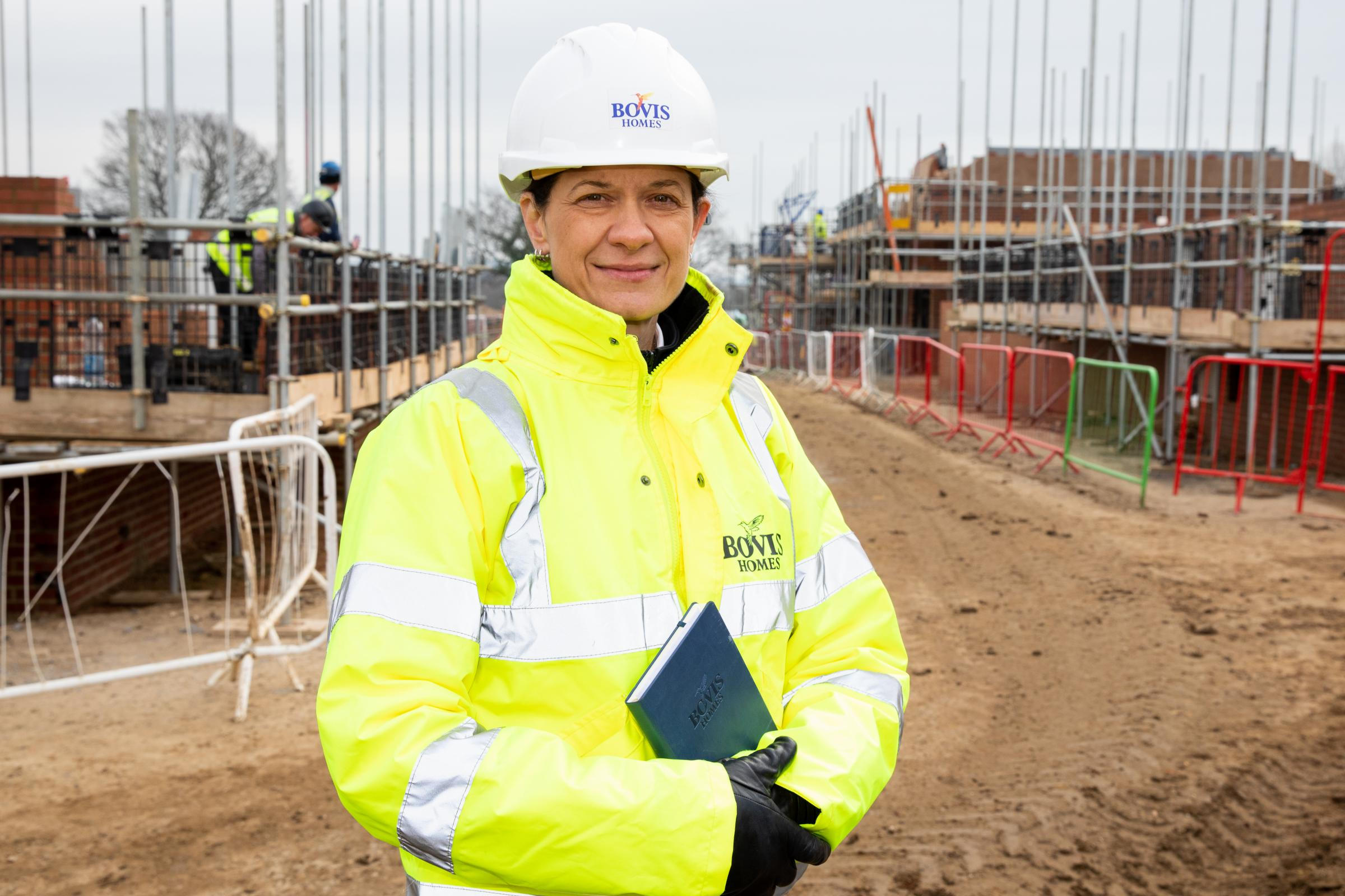 Suzanne Jamison, area build manager with Bovis Homes