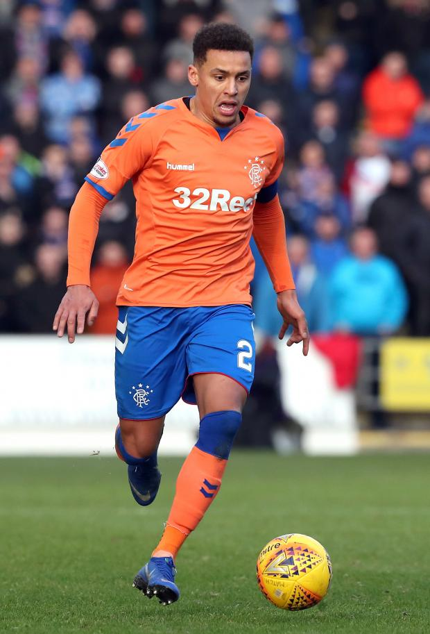 Daily Echo: James Tavernier in action for Rangers