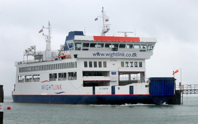Sailings on the Lymington to Yarmouth route will resume next month.
