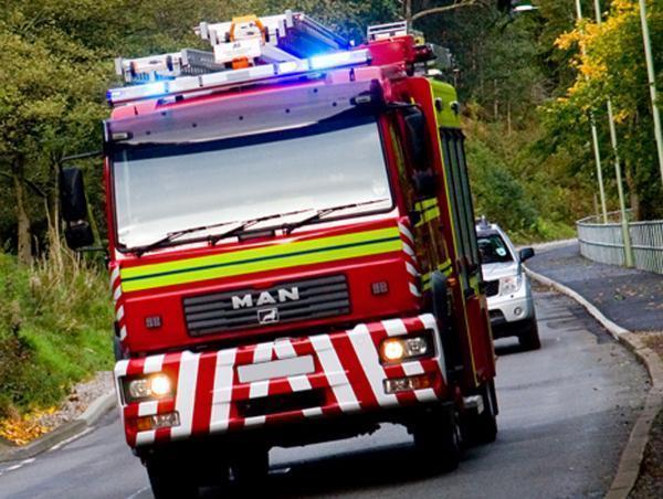 Police probe arson attack on van