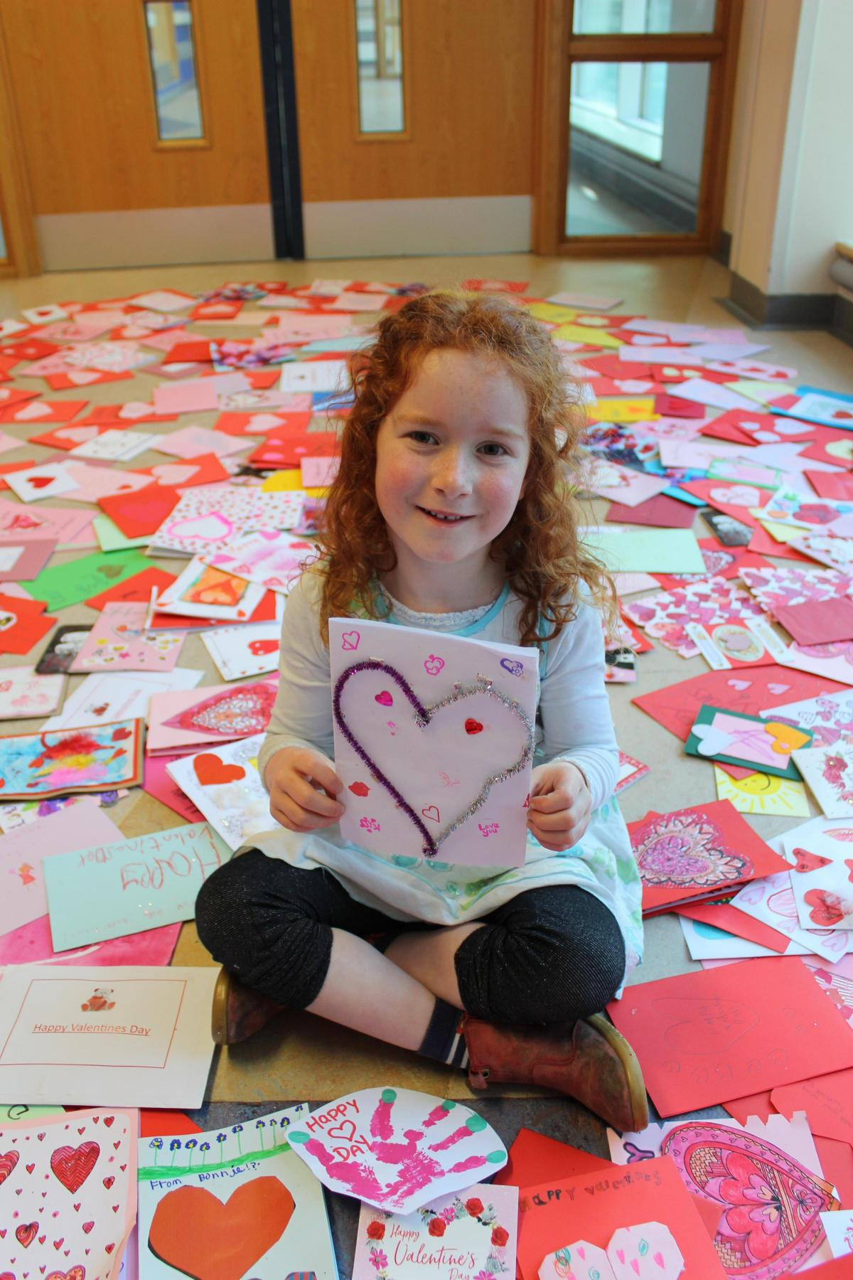 Hundreds of Valentine's Day cards and gifts sent to young heart patients