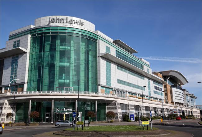 WestQuay Shopping Centre and John Lewis
