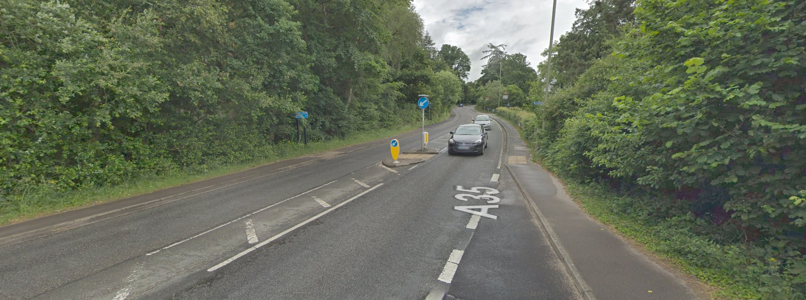 Google Street View of Lyndhurst Road, Ashurst