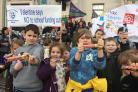 The Southampton Fair Funding for All Schools campaign at Civic Centre on February 20 2019