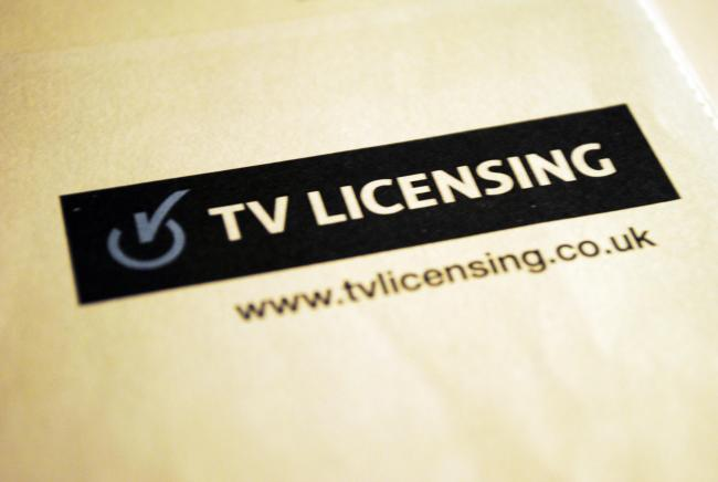 Embargoed to 0001 Friday February 08..File photo dated 07/12/12 of the TV Licensing logo. The charity Age UK has warned more than two million over-75s would have to go without television or cut back on essentials such as heating or eating if free TV licen