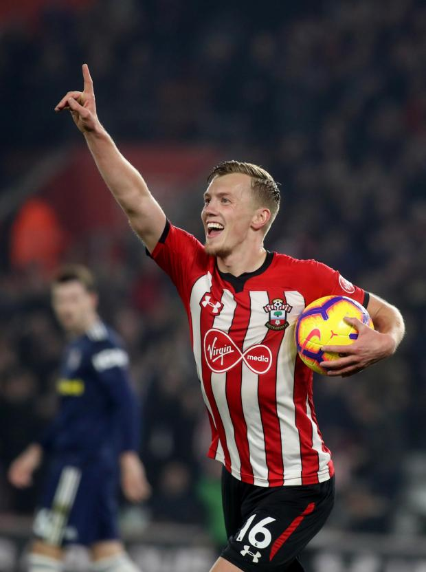 Daily Echo: James Ward-Prowse