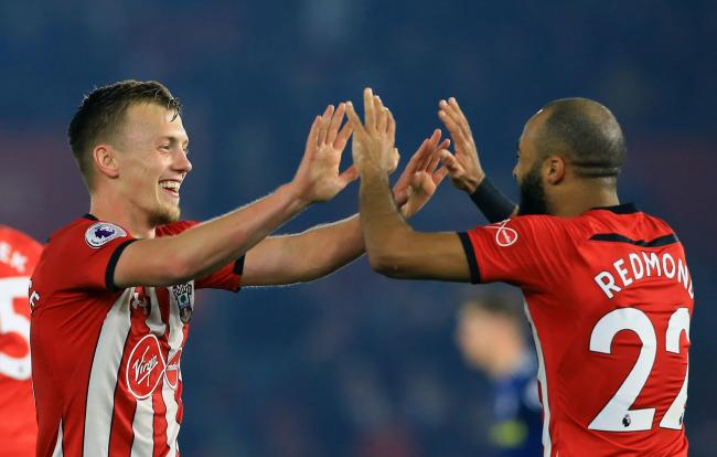 James Ward-Prowse and Nathan Redmond