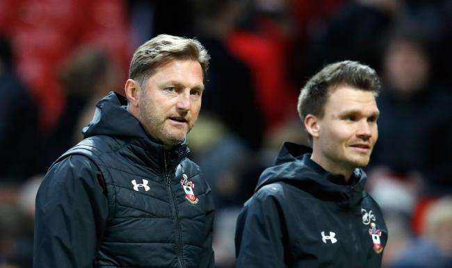 Ralph Hasenhuttl and Danny Rohl