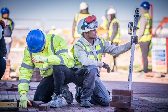 Mock construction site makes awards finals | Daily Echo