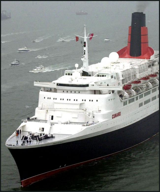 QE2 to be scrapped?