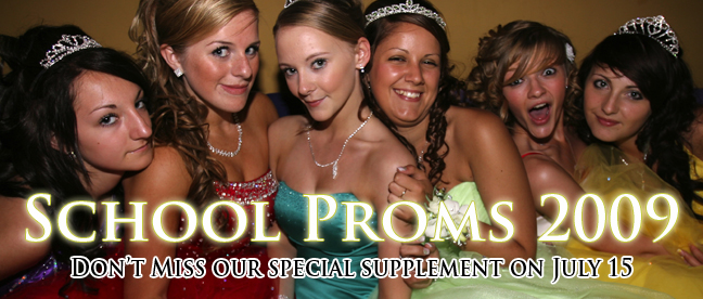 School Proms 2009 from the Daily Echo