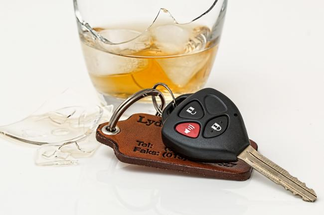Stock image - drink driving